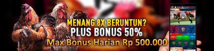WIN 8X BERUNTUN